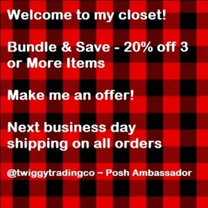 BUNDLE & SAVE - MAKE ME AN OFFER!